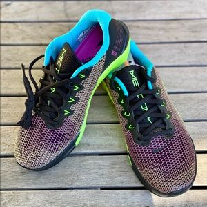 NEW Nike Metcon 5 AMP Black Green Blue Pink